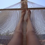 My good friend, the hammock....