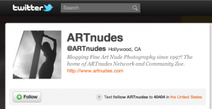 ARTnudes on Twitter